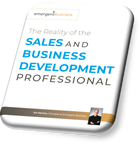 The reality of the sales and business development professional white paper